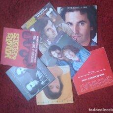 Discos de vinilo: LOTE 7 SINGLES - VICTOR MANUEL - SERRAT - JEANETTE - PIMPINELA - MAMAS & PAPAS. Lote 110524667