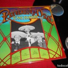 Discos de vinilo: EL TRIO CALAVERAS RECUERDOS DE ORO 2LP 1981 EPIC GATEFOLD EDICION ESPAÑOLA SPAIN. Lote 110525371