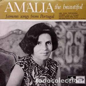 AMALIA RODRIGUES THE BEAUTIFUL : UMA CASA PORTUGUESA, COIMBRA +2 ED. PORTUGAL (Música - Discos de Vinilo - EPs - Cantautores Internacionales)
