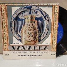 Discos de vinilo: HERMANAS FLAMARIQUE NAVARRA MUY BUEN ESTADO VER FOTOS. Lote 110528259