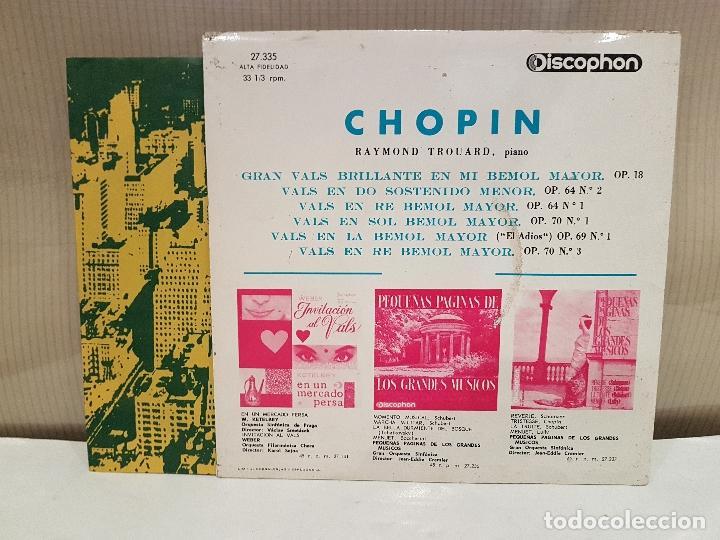 Discos de vinilo: los mas celebres valses de chopin muy buen estado ver fotos - Foto 2 - 110529115