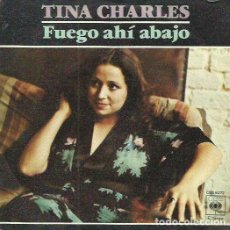 Discos de vinilo: TINA CHARLES. SINGLE. SELLO CBS. EDITADO EN ESPAÑA. AÑO 1978. Lote 110538475