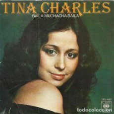 Discos de vinilo: TINA CHARLES. SINGLE. SELLO CBS. EDITADO EN ESPAÑA. AÑO 1976. Lote 110539143