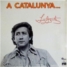 Discos de vinilo: LUIS AGUILÉ - A CATALUNYA... - LP SPAIN 1975 - ARIOLA / SHOWMAN 85.582-I. Lote 110544739