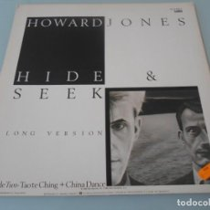 Discos de vinilo: *.- MAXI SINGLE 1984 - HOWARD JONES LA FOTO ES LA CONTRAPORTADA DE LA CARPETA. Lote 110548527