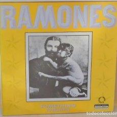 Discos de vinilo: RAMONES - SOMETHING TO BELIEVE IN MAXI ENGLAND - BEGGARS BANQUET - 1986. Lote 110554111