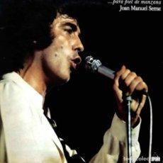 Discos de vinilo: JOAN MANUEL SERRAT, PARA PIEL DE MANZANA. LP ORIGINAL CON PORTADA DOBLE O ABIERTA. Lote 110559399