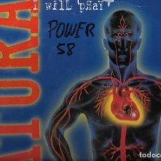 Discos de vinilo: LP VINILO DE DATURA - I WILL PRAY - TIME. Lote 110559567
