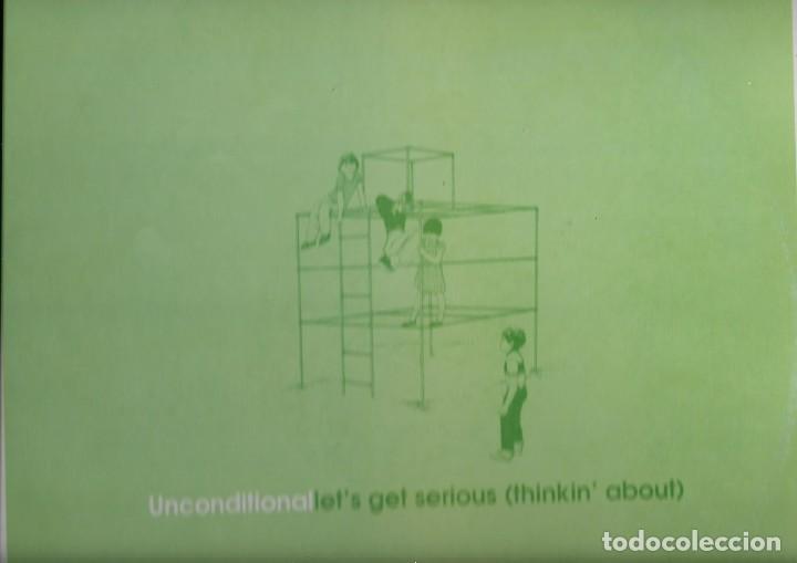 LP VINILO UNCONDITIONALLETS GET SERIOUS (Música - Discos de Vinilo - Maxi Singles - Pop - Rock Extranjero de los 90 a la actualidad)