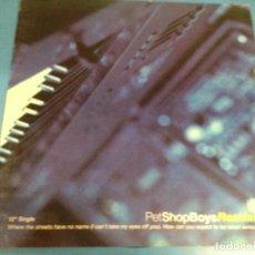 Discos de vinilo: MAXI SINGLE DISCO VINILO PET SHOP BOYS REMIXED. Lote 110562439