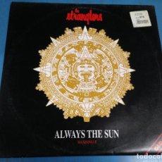 Discos de vinilo: MAXI SINGLE DISCO VINILO THE STRANGLERS ALWAYS THE SUN OLD GOLD. Lote 110562923