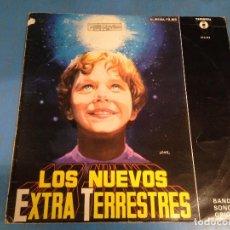 Discos de vinilo: MAXI SINGLE DISCO VINILO BSO LOS NUEVOS EXTRA TERRESTRES. Lote 110563635