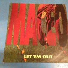 Discos de vinilo: MAXI SINGLE DISCO VINILO MACEO LET EM OUT. Lote 110564255