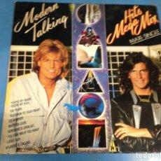 Discos de vinilo: MAXI SINGLE DISCO VINILO MODERN TALKING HITS MEGA MIX. Lote 110565803