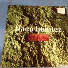 Discos de vinilo: MAXI SINGLE DISCO VINILO FLACO BENITEZ BAILA MI RITMO. Lote 110566083