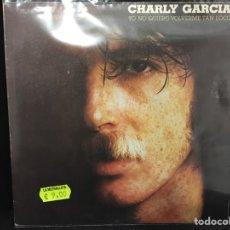 Discos de vinilo: CHARLY GARCÍA - YO NO QUIERO VOLVERME TAN LOCO + 1 - SINGLE. Lote 113242303