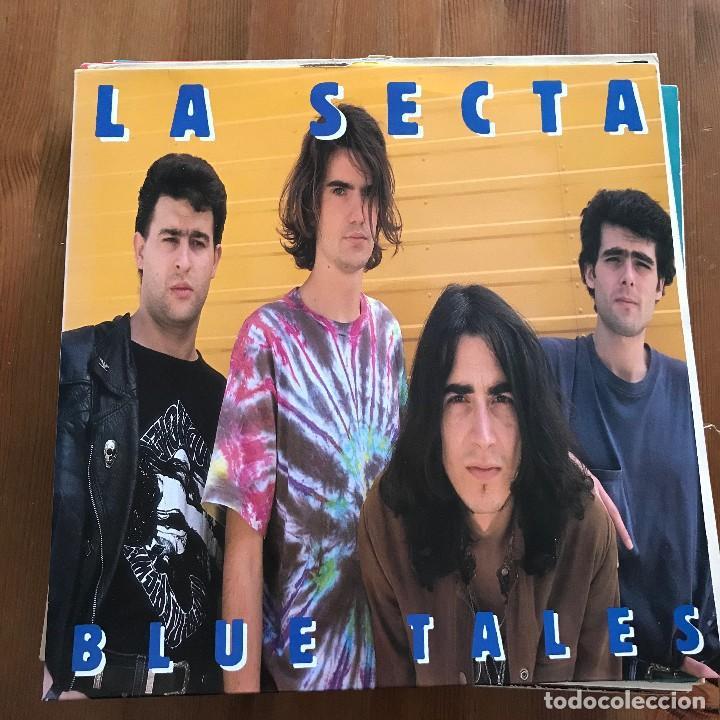 LA SECTA - BLUE TALES - LP MUNSTER 1990 (Música - Discos - LP Vinilo - Grupos Españoles de los 90 a la actualidad)