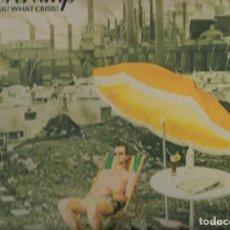 Discos de vinilo: SUPERTRAMP CRISIS? WHAT CRISIS? LP DE VINILO VINYL DEL AÑO 1975 EN BUEN ESTADO. Lote 176530830