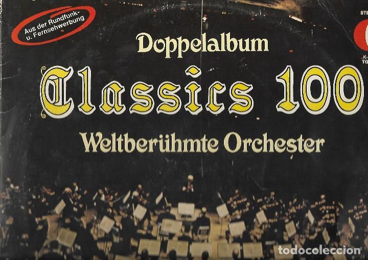 LP VINILO DOPPELALBUM CALSSICS100 (Música - Discos de Vinilo - Maxi Singles - Pop - Rock Extranjero de los 90 a la actualidad)