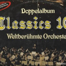 Discos de vinilo: LP VINILO DOPPELALBUM CALSSICS100. Lote 110573023