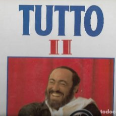 Discos de vinilo: LP VINILO PAVAROTTI - TUTTO II (DOBLE LP VINILO. Lote 110578347