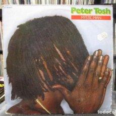 Discos de vinilo: PETER TOSH - MYSTIC MAN (LP, ALBUM) 1979 SPAIN. Lote 110584279