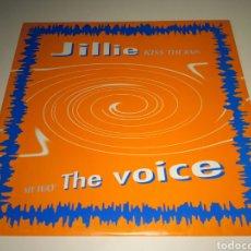 Discos de vinilo: JILLIE / THE VOICE - KISS THE RAIN / MY WAY. Lote 110593288