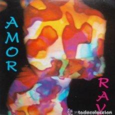 Discos de vinilo: RAY - AMOR . MAXI SINGLE . 1992 PRODUCCIONES MAS VOLUMEN . Lote 110609951