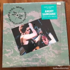 Discos de vinilo: METAL MIKE - PLAYS THE HITS OF THE 90'S - MINI LP TRIPLE X USA 1991 - ANGRY SAMOANS. Lote 110612203