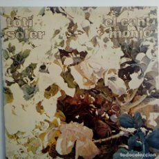 Discos de vinilo: TOTI SOLER- EL CANT MONJO - LP 1975 - VINILO COMO NUEVO. REF. 01. Lote 110614219