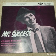 Discos de vinilo: FRANK SINATRA - MR. SUCCESS, DENMARK EP CAPITOL RECORDS. Lote 110617127