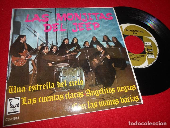 LAS MONJITAS DEL JEEP UNA ESTRELLA DEL CIELO/CON LAS MANOS VACIAS/+2 7'' EP 1967 CEM (Música - Discos de Vinilo - EPs - Grupos Españoles 50 y 60)