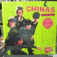 Discos de vinilo: LAS CHINAS - AMOR EN FRIO (LP, RE ) 2013 PRECINTADO. Lote 110643055