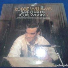 Discos de vinilo: ROBBIE WILLIAMS ( SWING WHEN YOU´RE WINNING ) 2001 CAPITOL. Lote 110646131