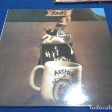 Discos de vinilo: THE KINKS ( ARTHUR ) 2000 EARMARLE 180 GARM VIRGIN VINYL SPECIAL. Lote 110646903