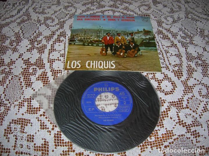DISCO LOS CHIQUIS ,AÑOS 60 (Música - Discos de Vinilo - Maxi Singles - Cantautores Españoles)