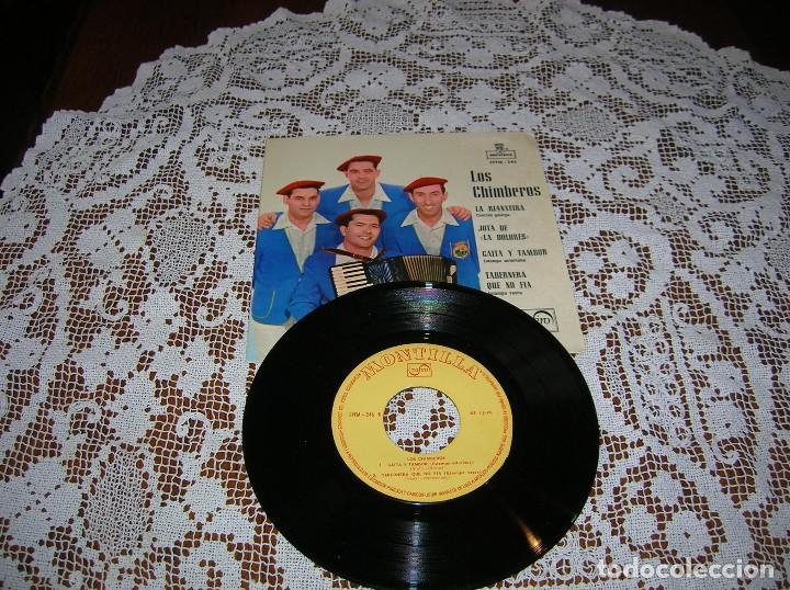 DISCO LOS CHIMBEROS ,AÑOS 60 (Música - Discos de Vinilo - Maxi Singles - Cantautores Españoles)