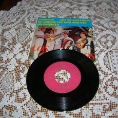 Discos de vinilo: DISCO LOS CHIMBEROS ,CUATRO CANCIONES ,AÑOS 60. Lote 110654839