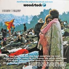 Discos de vinilo: WOODSTOCK - MUSIC FROM THE ORIGINAL SOUNDTRACK AND MORE – 3 VINILOS. Lote 110661523