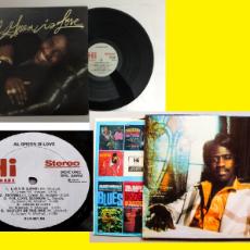 Discos de vinilo: AL GREEN - AL GREEN IS LOVE 1975 !! GREAT SOUL !! RARA 1ª EDC ORG USA HI RECORDS, TODO IMPECABLE. Lote 66245966