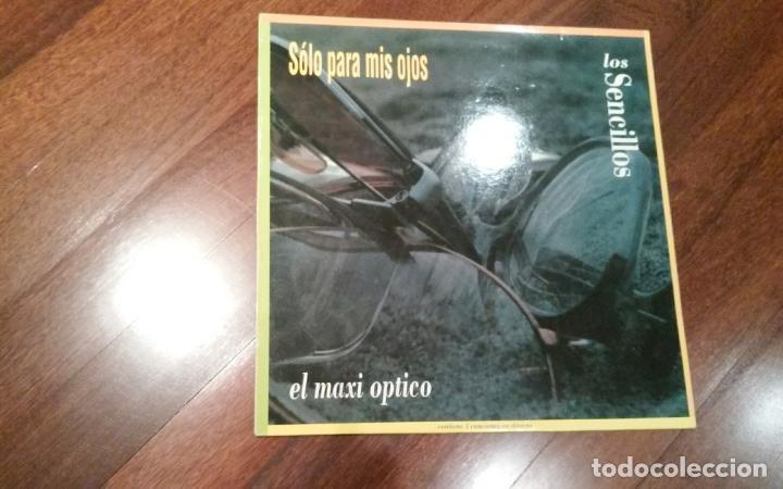 LAS SENCILLOS-SOLO PARA MIS OJOS.MAXI (Música - Discos de Vinilo - Maxi Singles - Grupos Españoles de los 90 a la actualidad)