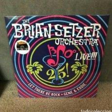 Discos de vinilo: STRAY CATS BRIAN SETZER ORCHESTRA 25TH ANNIVERSARY. Lote 110672710