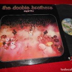 Discos de vinilo: THE DOOBIE BROTHERS ESPIRITU LP 1974 WARNER BROS ESPAÑA SPAIN. Lote 110677003