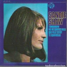 Discos de vinilo: SANDIE SHAW EP SELLO HISPAVOX EDITADO EN ESPAÑA AÑO 1966. Lote 110677027