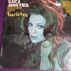 Discos de vinilo - SARITA SARA MONTIEL LP COLUMBIA 1971 BSO VARIETES - CPS 9128 - 110695571