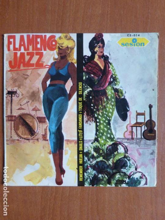TINO CONTRERAS-FLAMENCO JAZZ-REMEMBER HUELVA + 3, AÑO 1966-BUEN ESTADO-SPANISH JAZZ-MUY ESCASO (Música - Discos de Vinilo - EPs - Jazz, Jazz-Rock, Blues y R&B)