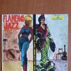 Discos de vinilo: TINO CONTRERAS-FLAMENCO JAZZ-REMEMBER HUELVA + 3, AÑO 1966-BUEN ESTADO-SPANISH JAZZ-MUY ESCASO. Lote 110703755