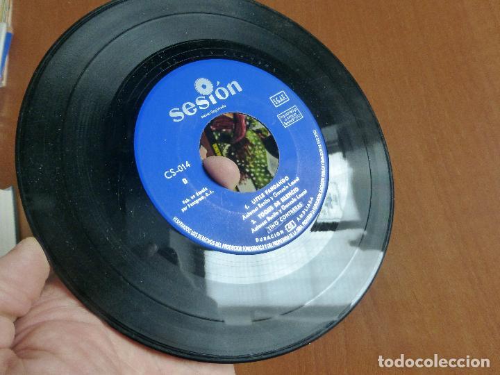 Discos de vinilo: Tino Contreras-Flamenco Jazz-REMEMBER HUELVA + 3, AÑO 1966-buen estado-spanish jazz-MUY ESCASO - Foto 2 - 110703755