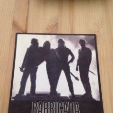 Discos de vinil: BARRICADA - NO HAY TREGUA -SINGLE CON DOS TEMAS-ROCK URBANO. Lote 110711335