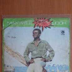 Discos de vinilo: MAXWELL UDOH ‎– TELL ME WHAT YOU GONNA DO - VINYL, LP, ALBUM - NIGERIA - 1982 - AFRICAN REGGAE. Lote 110732683